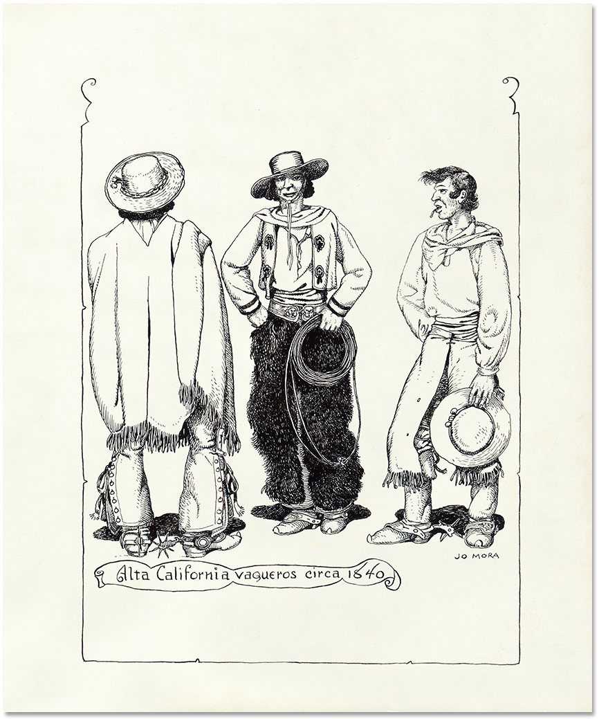 Alta California Vaqueros, Circa 1840