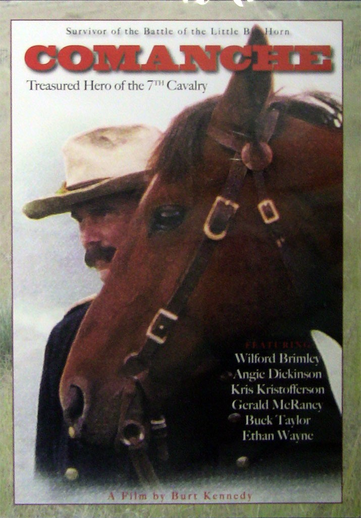 Comanche DVD - Front Cover