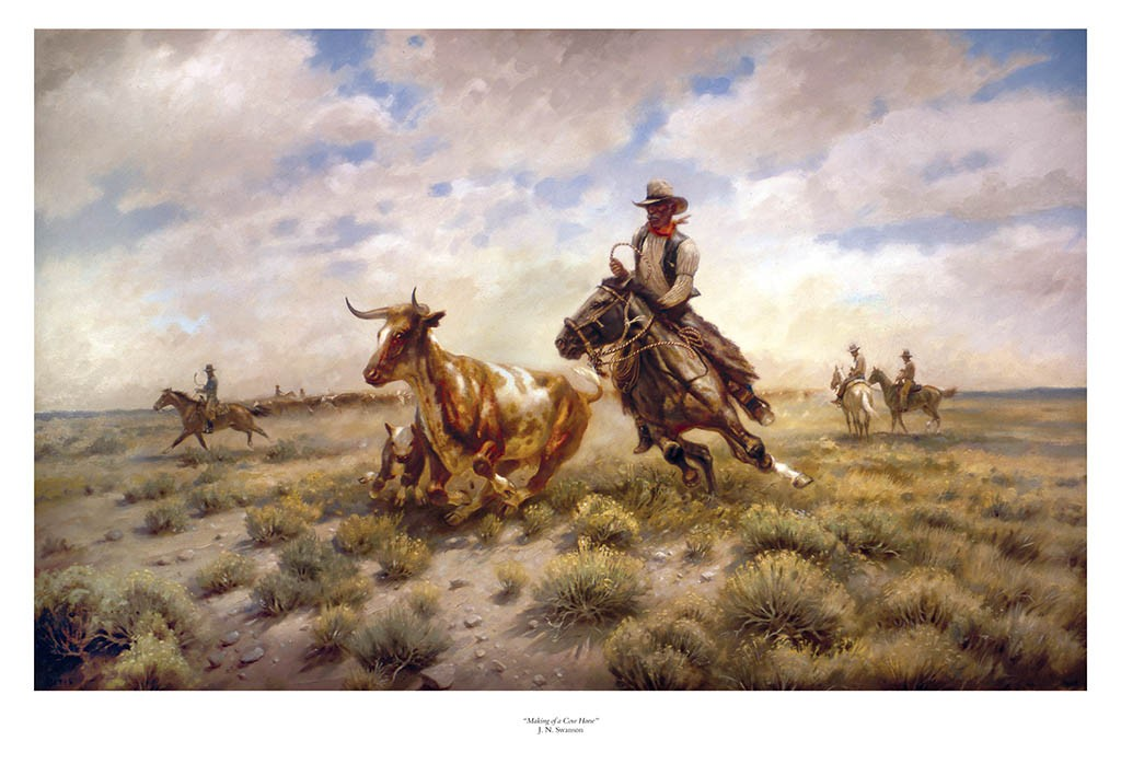 Jack Swanson - Making of a Cow Horse