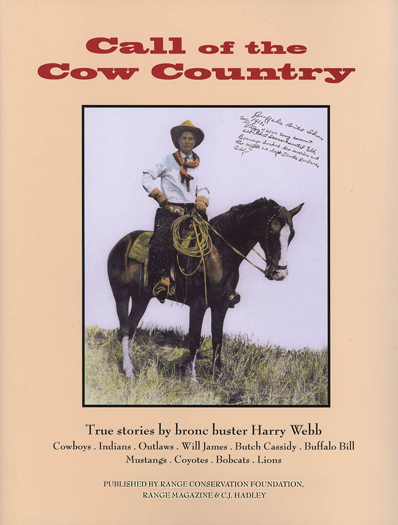 Call of the Cow Country - Front Cover
