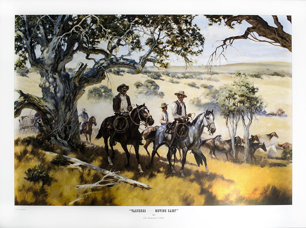 Jack Swanson | Vaqueros Moving Camp