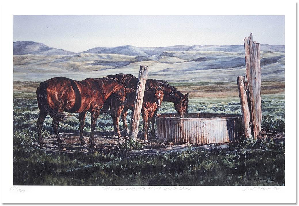 Joelle Smith - Summer Evening in the Judith Basin