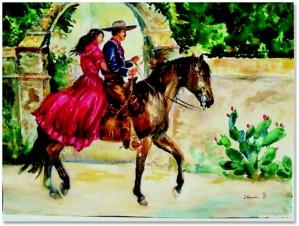 Deborah Kunic - Mi Amore - vaquero and his gal