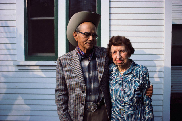 Arnold Rojas and Wife Florence